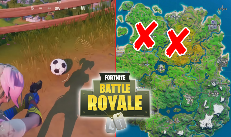 All Fortnite Soccer Ball Locations