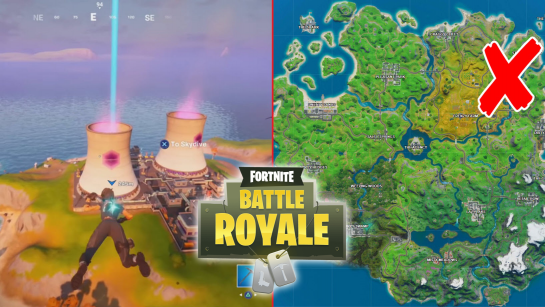 All Fortnite Steamy Stacks, Zipline, and Secret Passage Locations