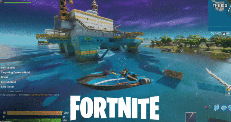 Catch Air With a Motorboat in Fortnite Weekly Challenge