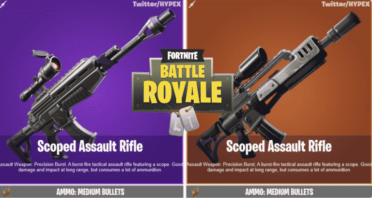 Fortnite Chapter 2 Season 2 Leaked Weapons