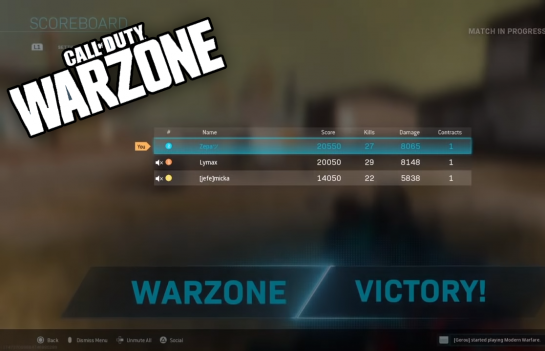 Lymax, Micka and Mindfreak's Zepa Set New Warzone World Record For Kills