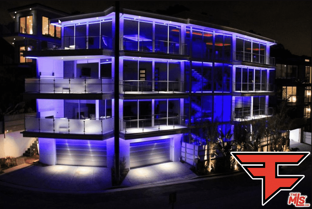 Old FaZe House in Hollywood Hills Los Angeles FaZe Clan Esports