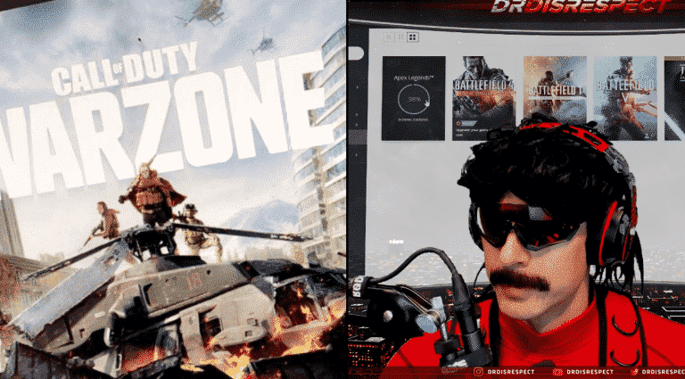 Streamer Dr Disrespect Hinting Release Date of Call of Duty Warzone