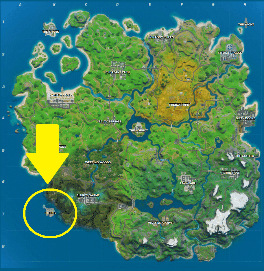 Where are the Propane Tanks in Fortnite