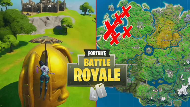 All Fortnite Giant Astro Head Locations