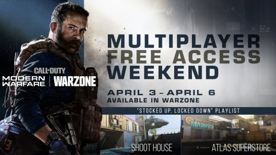 Call of Duty Modern Warfare Free-To-Play Multiplayer Event is Coming
