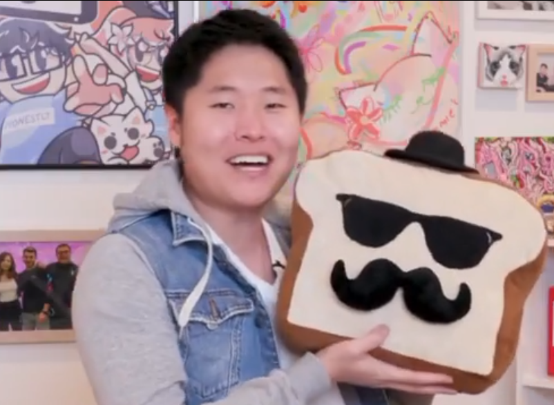 Disguised Toast Plush Twitch Streamer Facebook