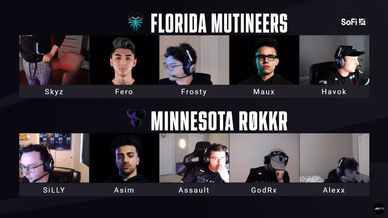 Florida Mutineers Champions of CDL Dallas Home Series Tournament esports