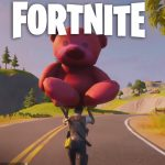 Fortnite Giant Pink Teddy Bear Location