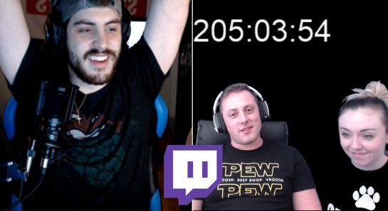 Twitch 200 Hour Club - World Record For Longest Twitch Stream