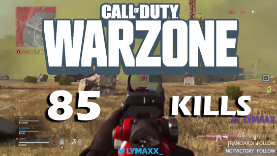 Warzone Most Kills Record is Broken Yet Again