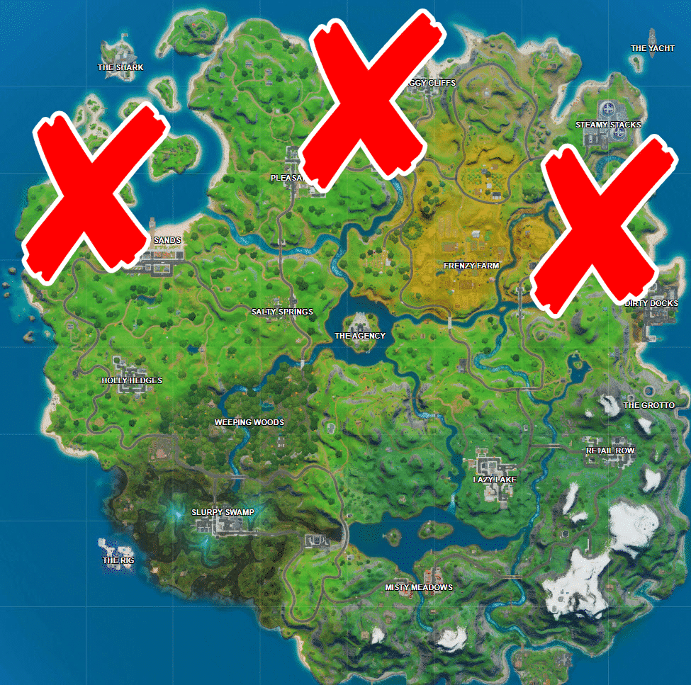 Where are the Skye's Coastal Campsites in Fortnite