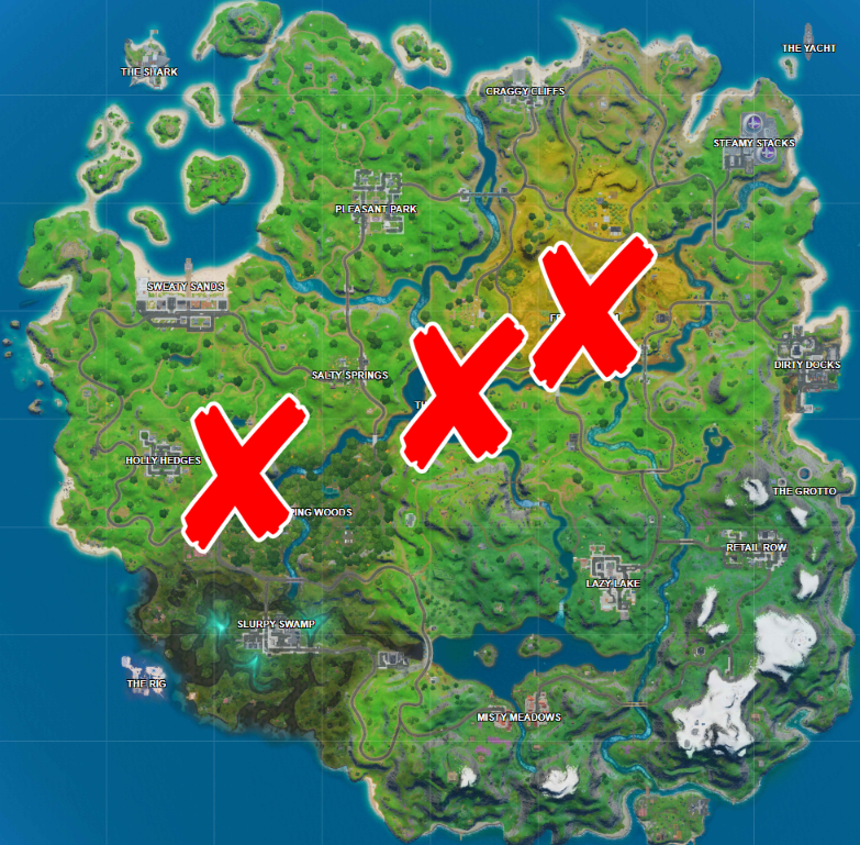 Where is the Agency, Hayman, and Greasy Graves in Fortnite