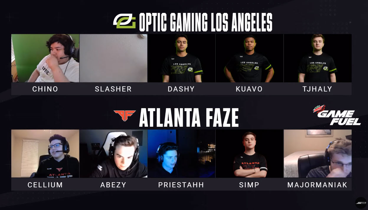 Atlanta FaZe Celebration Winning Florida Home Series 2020 Against OpTic