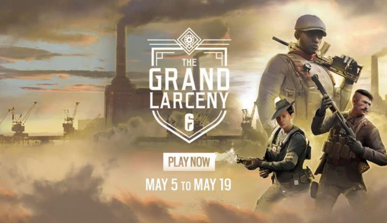 Rainbow Six Siege The Grand Larceny Event is Here