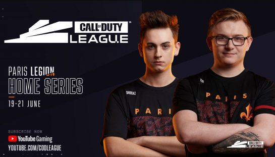 Where to watch the Call of Duty League Paris Legion Series