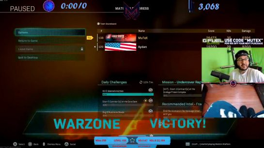 MuTeX and Aydan New World Record in Warzone Duos
