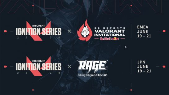 Valorant's First Official Tournament Ignition Series is Coming