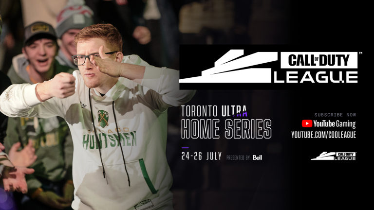 Where to watch the Call of Duty League Toronto Legion Home Series