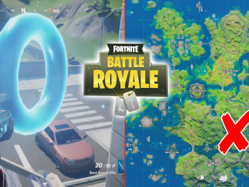 All Fortnite Floating Rings at Lazy Lake Location