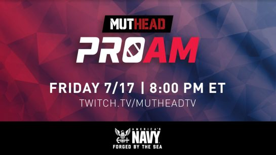 Fandom Announces Muthead Madden Pro-Am Tournament Presented by America's Navy