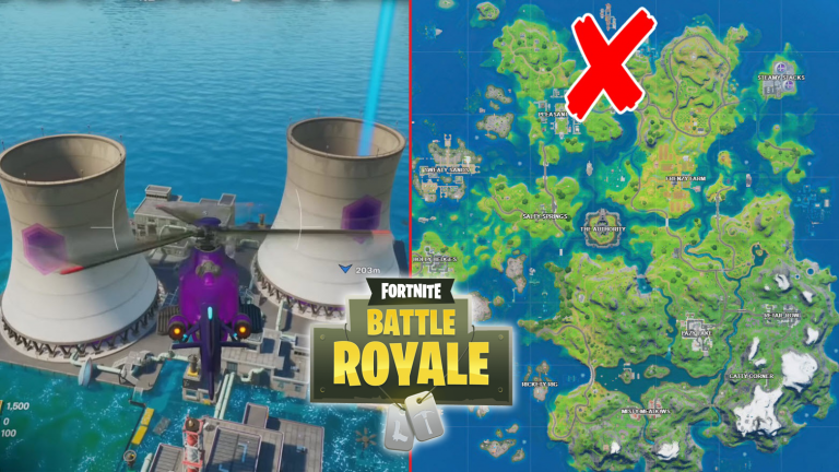 Land a Fortnite Choppa at the Bottom of Steamy Stacks
